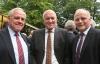 v.l.n.r.: Werner Hilse (Präsident Landvolk Niedersachsen), Manfred Nüssel (Präsident Deutscher Raiffeisenverband), Johannes Röring (MdB, Präsident Westfälisch-Lippischer Landwirtschaftsverband)