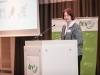 Kartin Spemann (QS Qualität und Sicherheit GmbH) berichtet über die Initiative Tierwohl