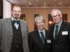 Prof. Dr. Dr. Andreas Hensel (Präsident BfR), Stephan Becker-Sonnenschein (Geschäftsführer Die Lebensmittelwirtschaft e.V.), Dr. Henning Ehlers (Generalsekretär DRV)
