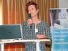 Monika Reule, Deutsches Weininstitut, stellt Aktivitäten des DWI auf der ProWein vor