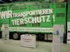 Der genossenschaftliche Tiertransporter - bereitgestellt von der Raiffeisen-Viehvermarktung Barnstorf-Twistringen eG