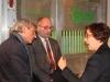 Alfred Hoffmann und Staatssekretär Roland Krämer vom Saarländischen Ministerium für Umwelt und Verbraucherschutz tauschten sich mit DRV-Referentin Dr. Verena Schütz aus