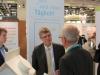 Christian Haase, MdB und Miglied im CDU/CSU-Auschusss Umwelt, Naturschutz, Bau beim Messestand