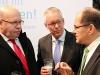 Bundesminister Peter Altmaier, Bundesminister Christian Schmidt und DRV - HGF Dr. Henning Ehlers im Gespräch