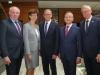 Präsident Franz-Josef Holzenkamp (i.m.) mit Vizepräsidenten: Dirk Niederstucke, Grit Worsch, Prof. Klaus Josef Lutz und HGF Dr. Henning Ehlers