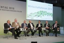 Wirtschaftsforum - Podium