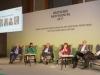 Angeregte Diskussion mit den Politikern der Bundestagsfraktionen