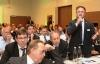 Die Teilnehmer des Wirtschaftsforum diskutierten rege mit