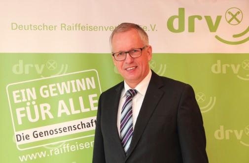 DRV-Generalsekretär Dr. Henning Ehlers bei der Pressekonferenz am 17.02.2016 in Berlin