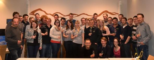 Die Teilnehmer des Zweiten DRV-Jungwinzerforums sehen optimistisch in die Zukunft der genossenschaftlichen Weinwirtschaft