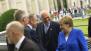 Empfang der Bundekanzlerin am Pariser Platz